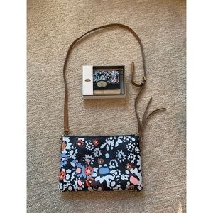 Fossil Floral Crossbody and Wallet